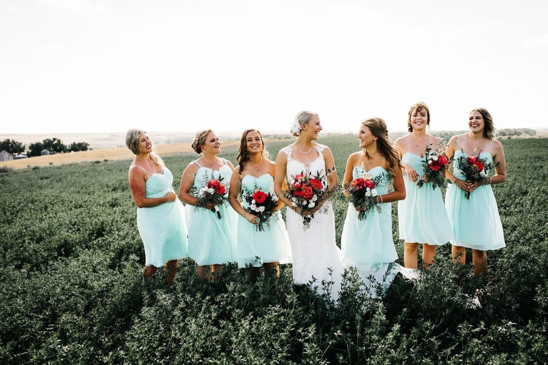 Dreamy and beautiful bridesmaid dresses   4 Tips for brides