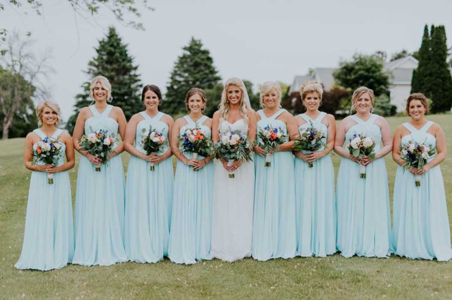 eb9083b53ad4 Country Bridesmaid Dresses 5 Suggestions for A Rustic Wedding