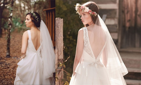 6 Open Back Wedding Dresses that Make You Want to Say