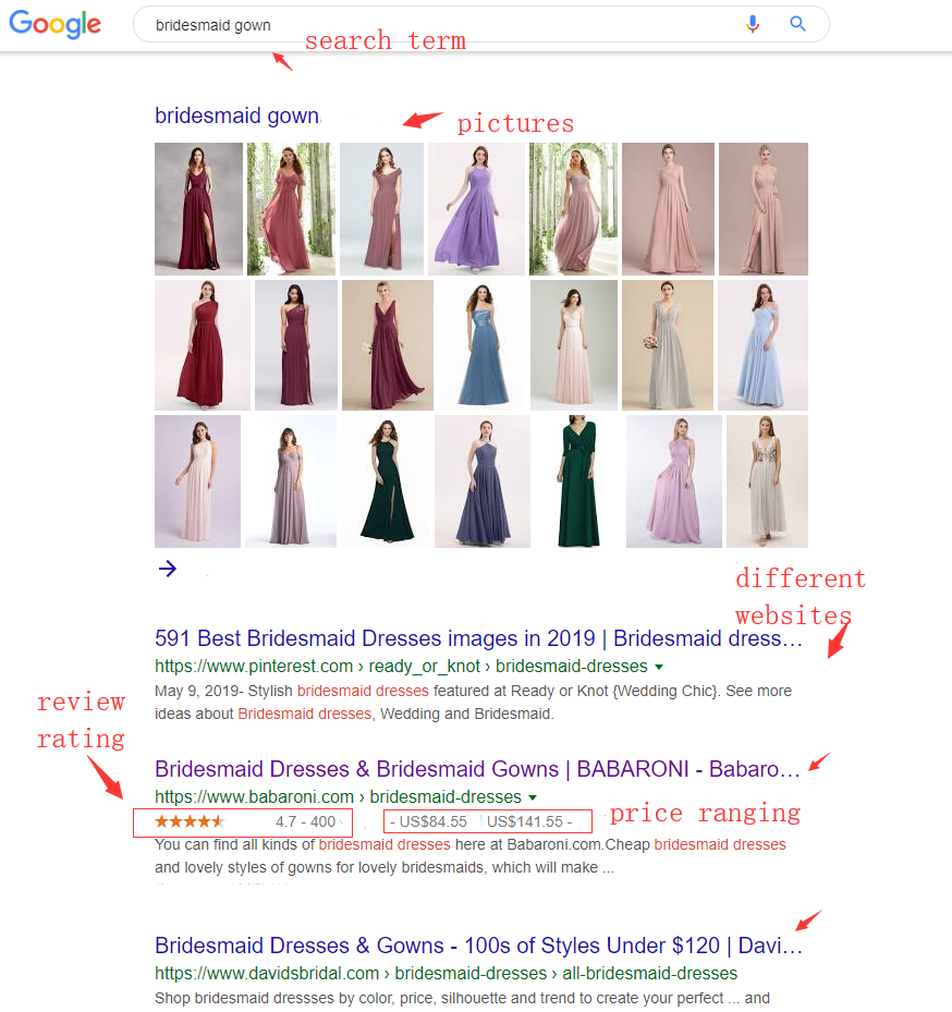 Babaroni Bridesmaid Dresses&Gowns,Wedding Dresses&Gowns
