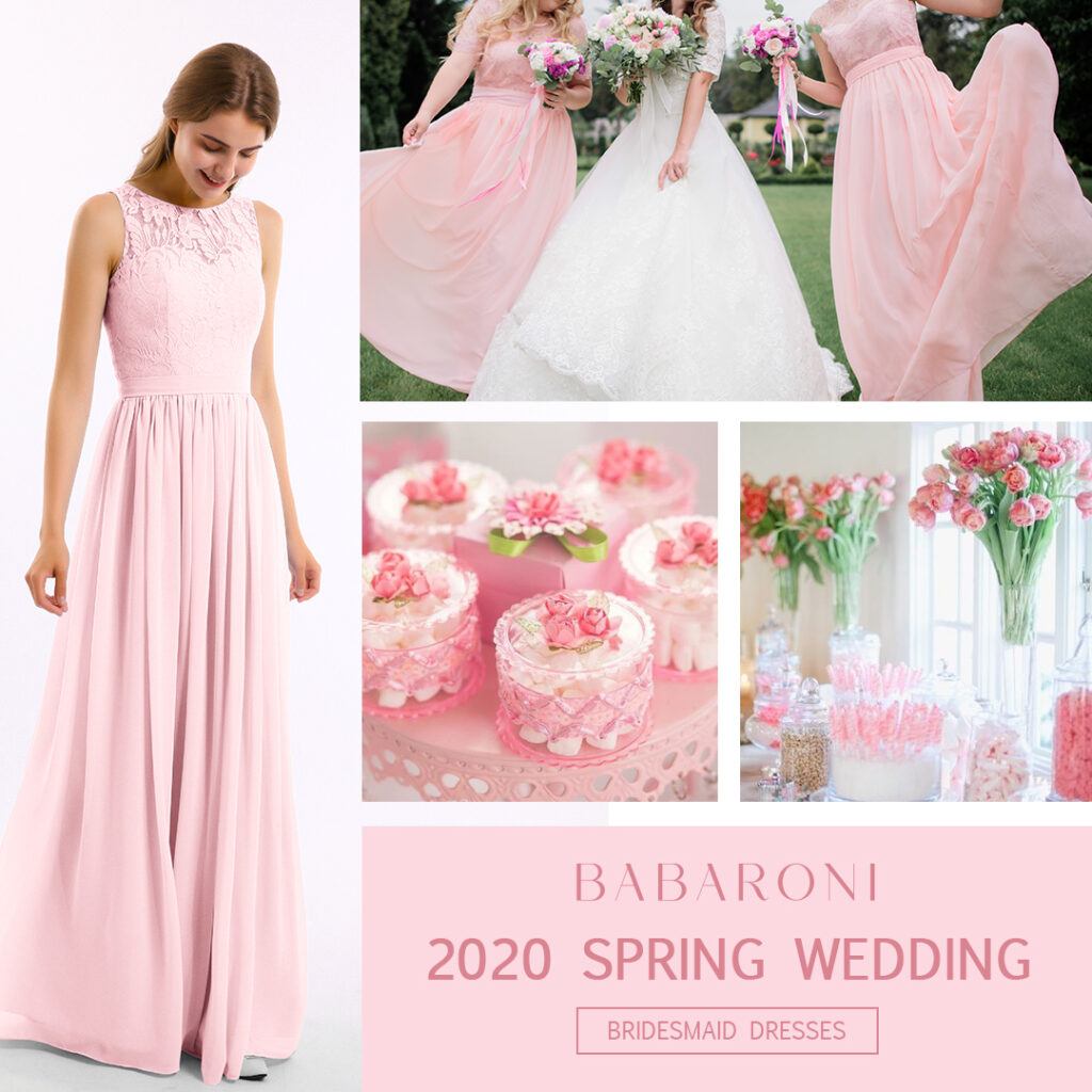 Find Your Light The Best Blush Bridesmaid Dress For Every Skin Tone Babaroni Bridesmaid Dresses Gowns Wedding Dresses Gowns Babaroni Blog