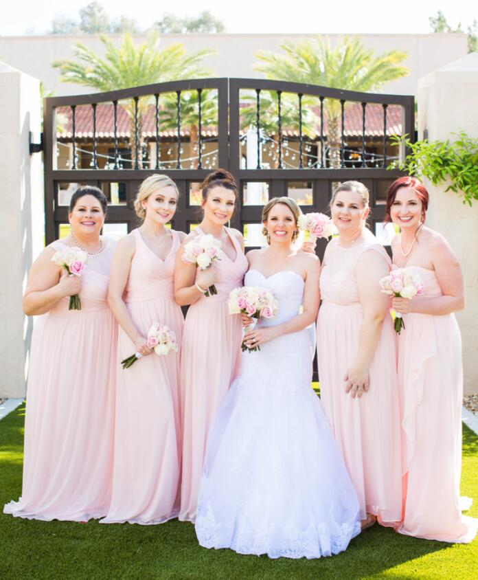 Latest Trends For 2020 Weddings And Tips For Choosing Bridesmaids Dresses Babaroni Bridesmaid Dresses Gowns Wedding Dresses Gowns Babaroni Blog,Long Sleeve Non White Wedding Dresses