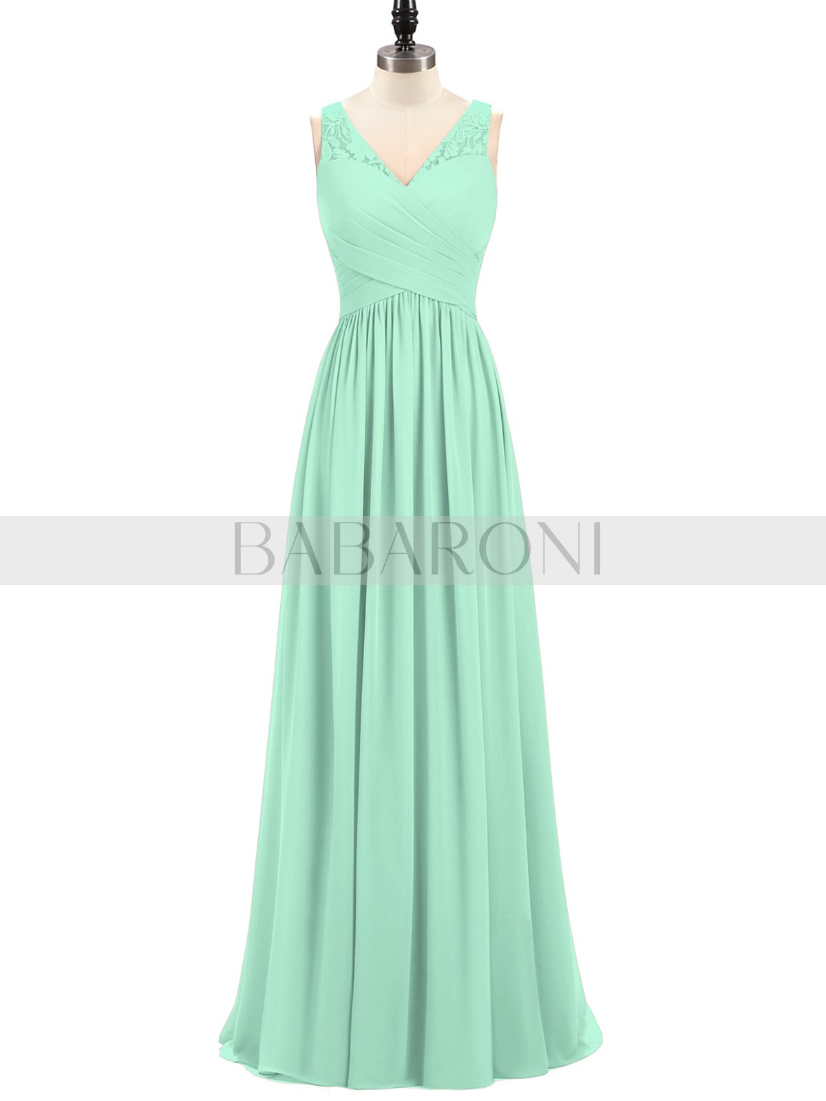 Mint Green Babaroni Adalyn Bridesmaid Dresses | Babaroni