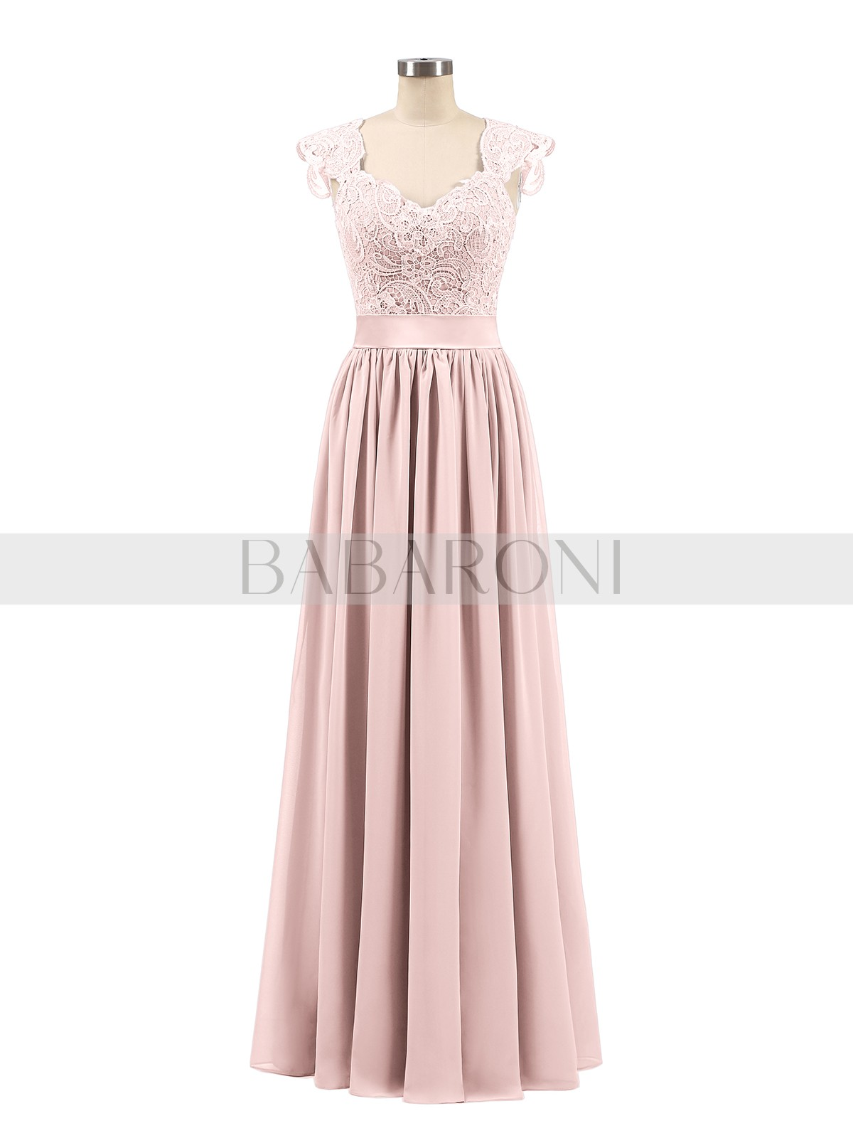 a3edac8353c0 A-line Chiffon Silver Zipper Side Appliqued, Pleated Floor-length Scoop  Sleeveless Sleeves. Loading zoom