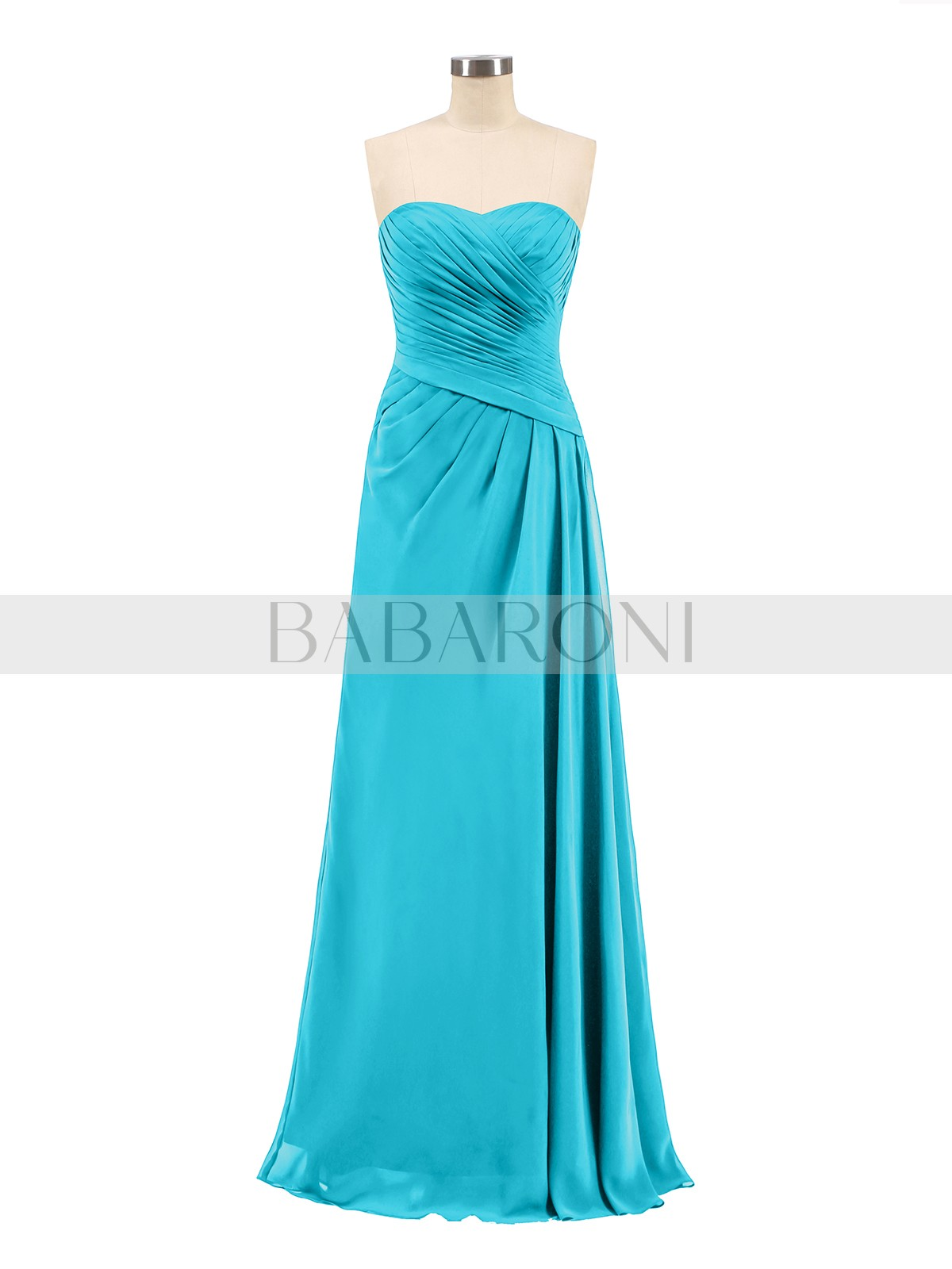 95e1e657de30 A-line Chiffon Dark Navy Zipper Ruched, Pleated Floor-length Sweetheart  Sleeveless Long. Loading zoom