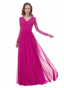 f0992428d4f Fuchsia Lace Lace Mother of the Bride Dresses   Bridesmaid Dresses ...