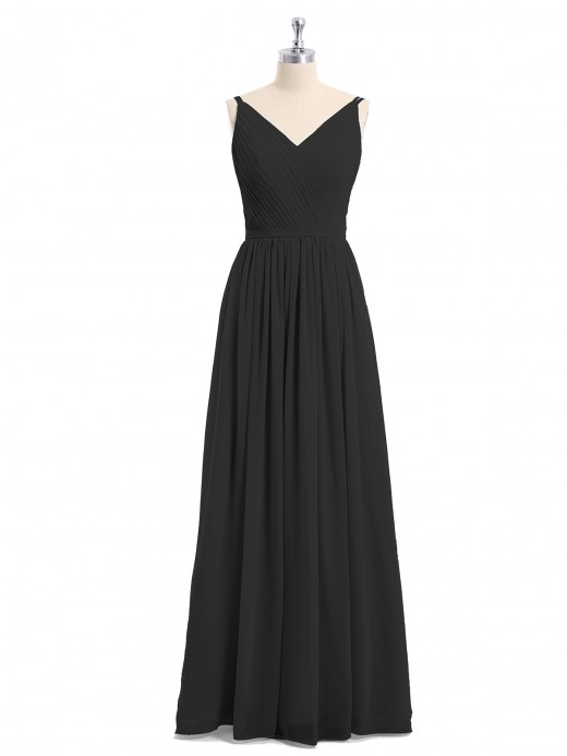 Babaroni Annabelle Double Strap Chiffon Bridesmaid Dresses