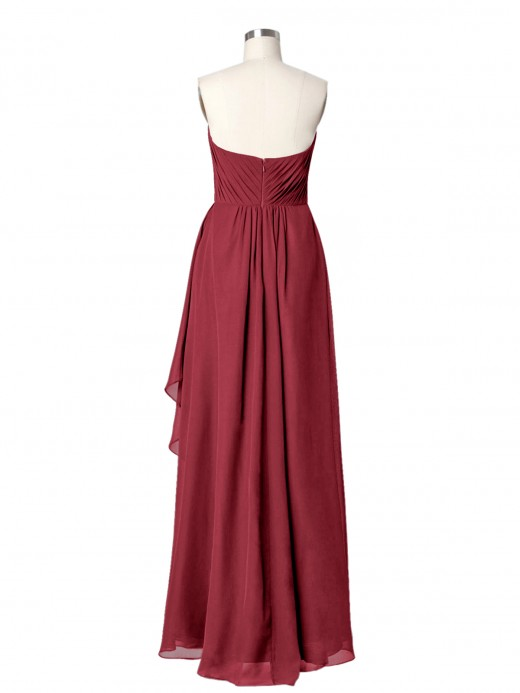 Babaroni Dominic Strapless Sweeheartneck Long Dress with Beaded