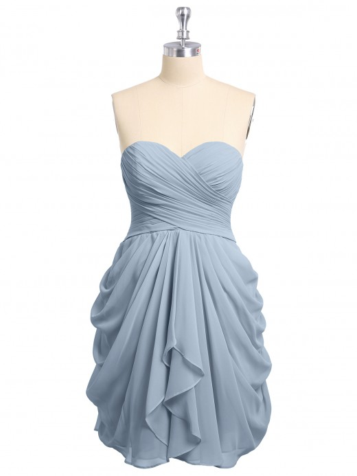 257be19425f Babaroni Doreen Sweetheart Neck Strapless Short Bridesmaid Dress ...