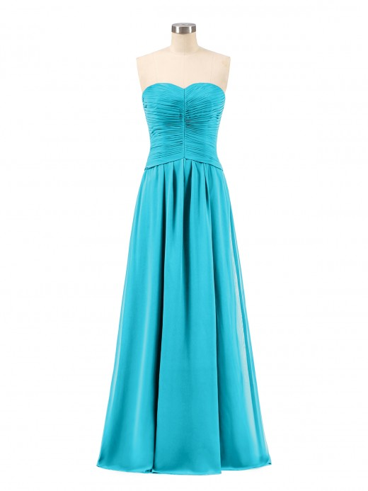 Babaroni Gabrielle Sweetheart Strapless Chiffon Bridesmaid Dress