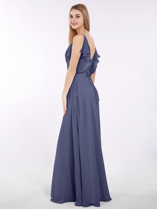 98df522b47e8 Stormy Chiffon Bridesmaid Dresses & Bridesmaid Gowns | BABARONI