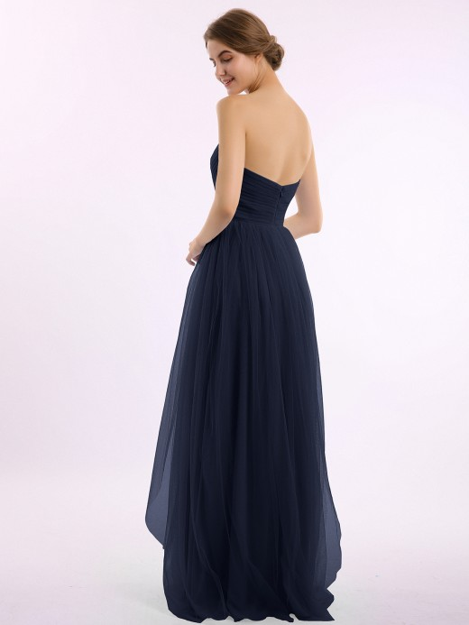 Babaroni Letitia Sweetheart Neck Strapless Empire Tulle Dresses