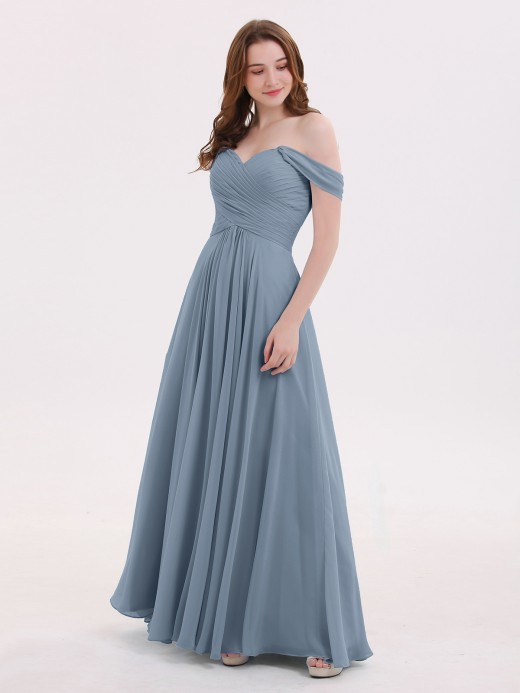 7abf4bb6337 Dusty Blue Bridesmaid Dresses   Bridesmaid Gowns