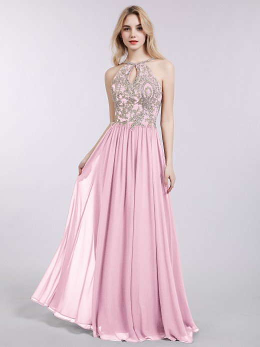 f593c3e9da60d Candy Pink Prom Dresses & Gowns , Cheap Prom Dresses | BABARONI