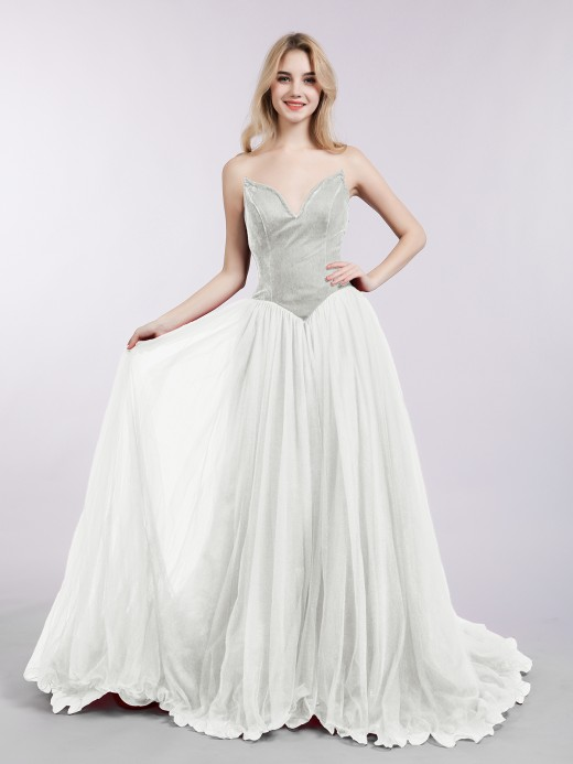 ccec4068f5 Ivory Prom Dresses & Gowns , Cheap Prom Dresses | BABARONI