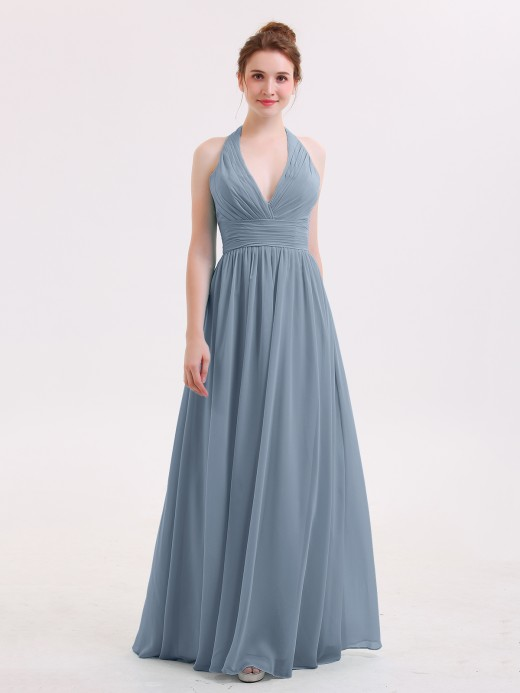 47a259f0e5a93 Dusty Blue Bridesmaid Dresses & Bridesmaid Gowns | BABARONI