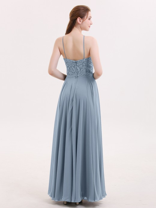 Babaroni Tallulah Lace and Chiffon Bridesmaid Dress