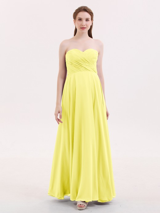 f97181f8ab7 Babaroni Wendy Strapless Sweetheart Maxi Bridesmaid Dress ...