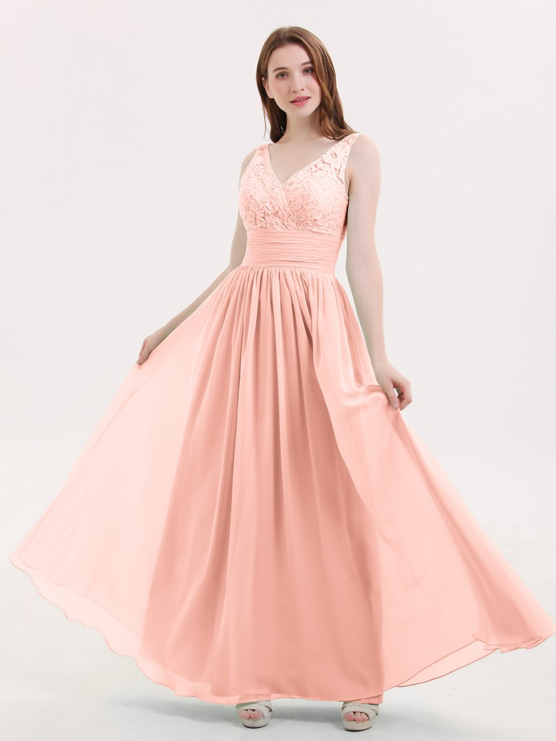 f3b089e64c6 Coral Valerie Lace and Chiffon Dresses with Open Bck