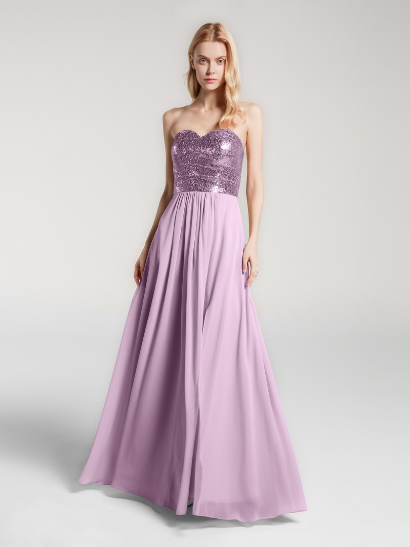 A-line No Burgundy Zipper Pleated Floor-length Sweetheart Sleeveless New Arrivals
